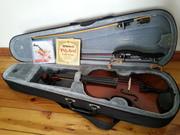 Скрипка (+чехол,  дополнительный набор струн,  мостик, смычок) Минск